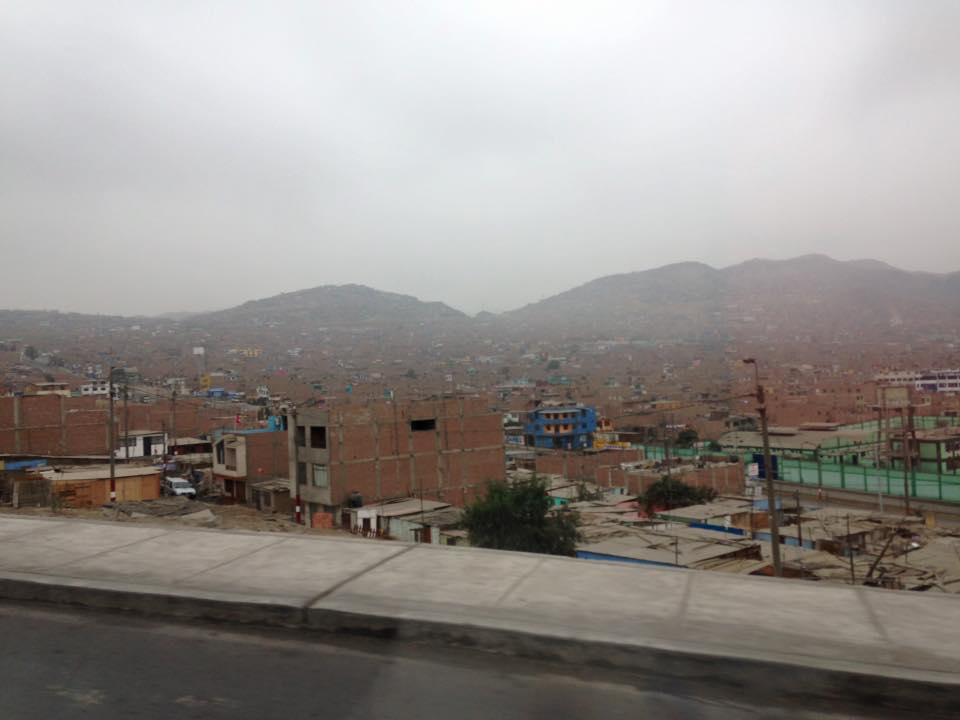 Indigo Sahara | Drive from Callao, Lima, Peru, to Aucallama.