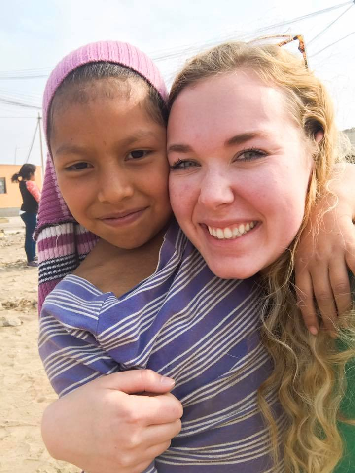 Indigo Sahara | My Peruvian friend Raquel from Aucallama, Peru, in 2018.