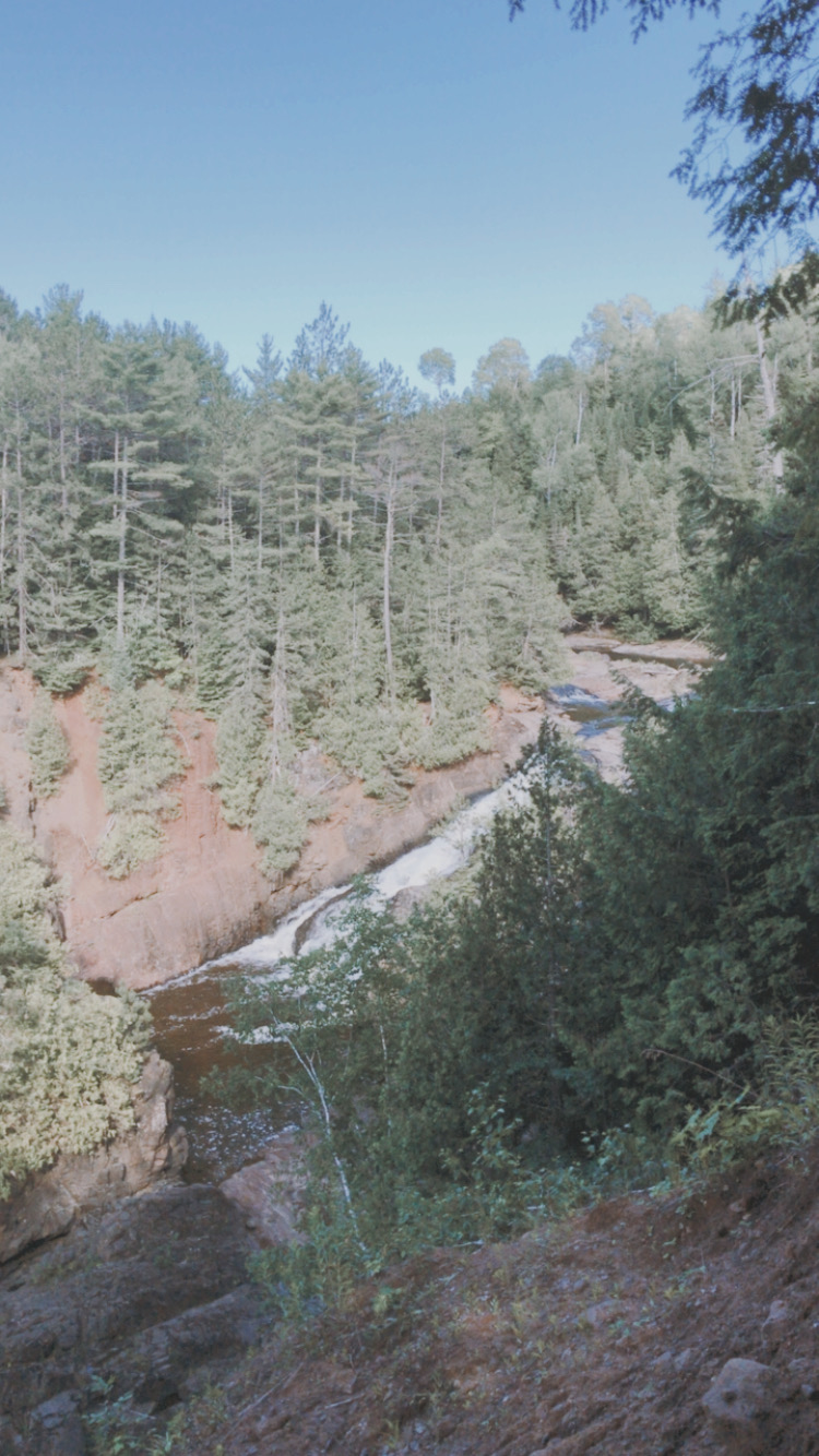 Saxon Falls   Saxon, Wisconsin   Waterfalls in Wisconsin   Indigo Sahara   Travel & Lifestyle Blog