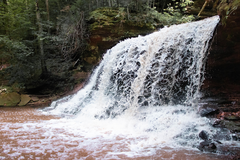 Lost Creek Falls   Cornucopia, Wisconsin   Waterfalls in Wisconsin   Indigo Sahara   Travel & Lifestyle Blog