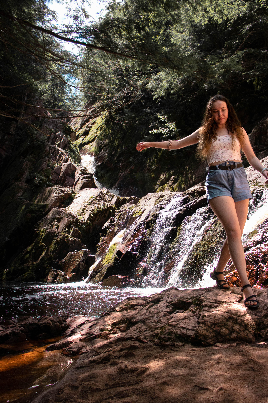 Morgan Falls   Mellen, Wisconsin   Waterfalls in Wisconsin   Indigo Sahara   Travel & Lifestyle Blog