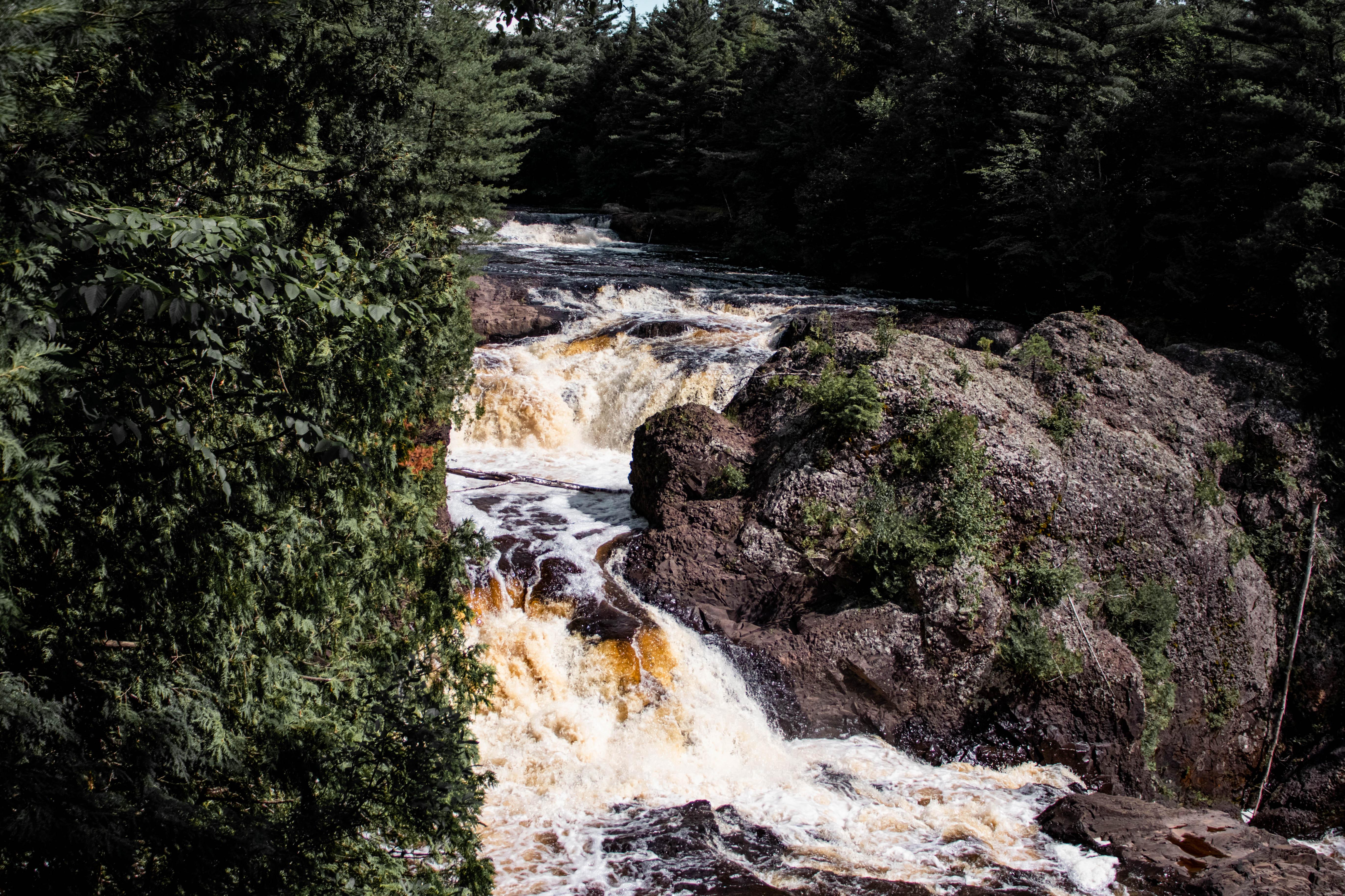 Potato River Falls   Gurney, Wisconsin   Waterfalls in Wisconsin   Indigo Sahara   Travel & Lifestyle Blog