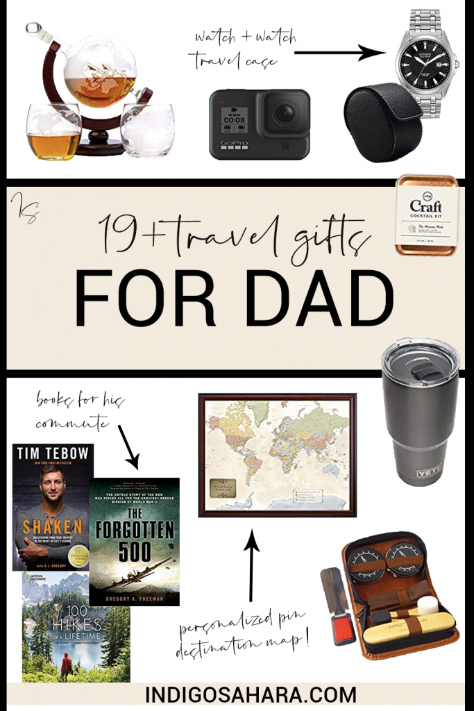 19+ Best Gift Ideas for Dads Who Travel | Indigo Sahara | Travel & Lifestyle Blog