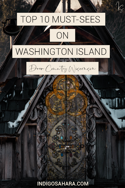 Historic Island Dairy Lavender Field on Washington Island