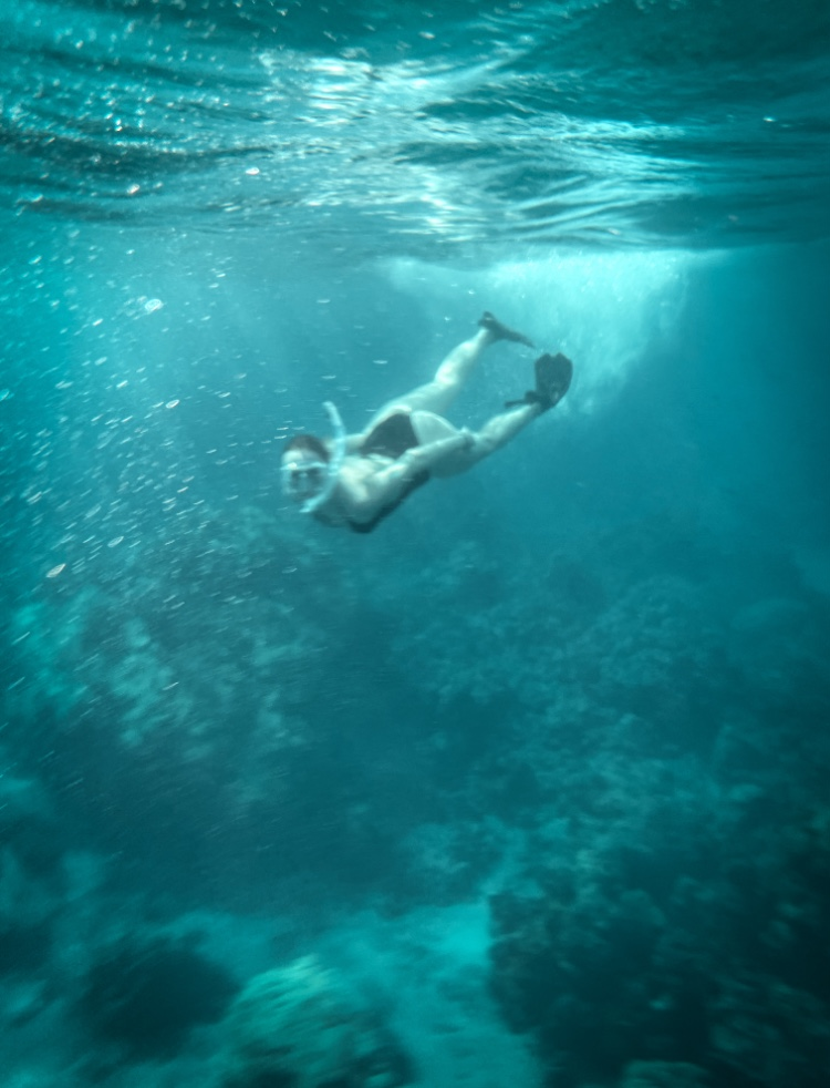 Snorkeling at Ahihi-Kinay Natural Area Reserve in Maui, Hawaii