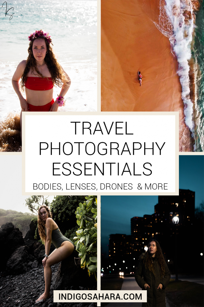 Travel Photography Essentials (bodies, lenses, drones and more)