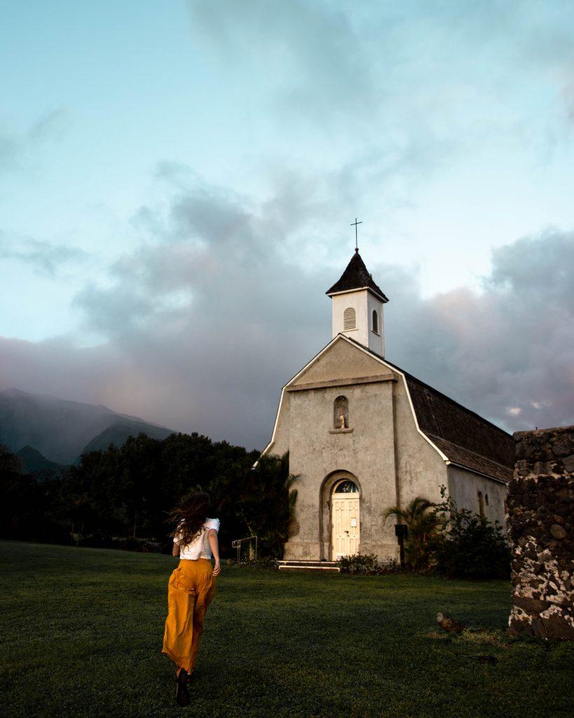Saint Joseph Church on the Road to Hana in Maui, Hawaii (Maui Instagram spots)