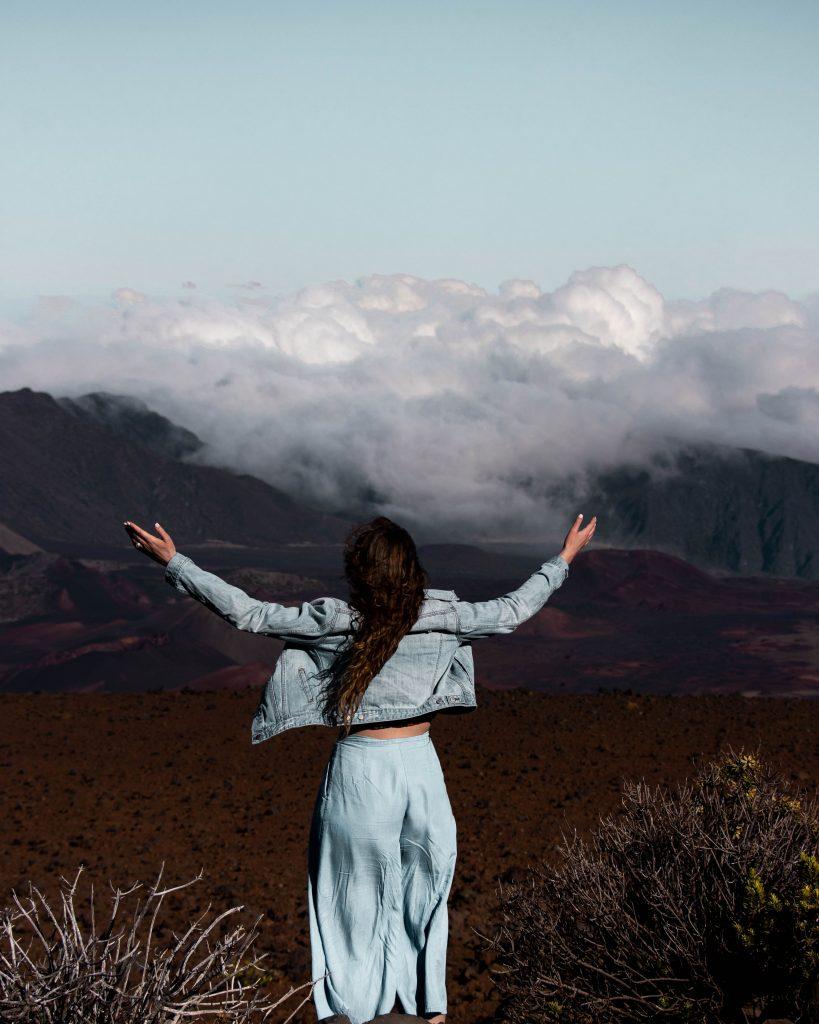 Haleakala Crater (dormant volcano), Haleakala National Park (Maui Instagram spots)