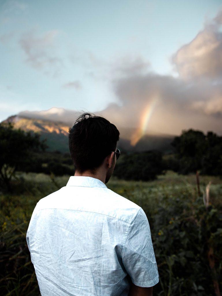 Rainbow on the Road to Hana in Maui, HI