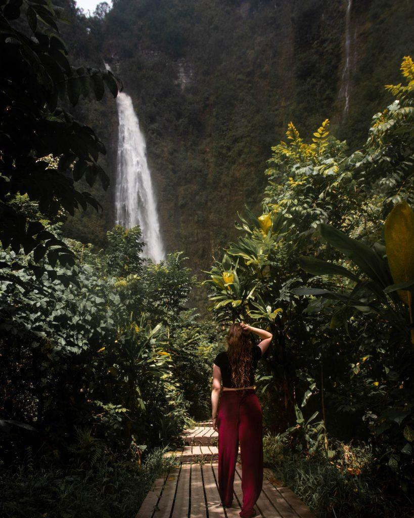 Waimoku Falls on the Road to Hana in Maui, Hawaii (Maui Instagram spots)