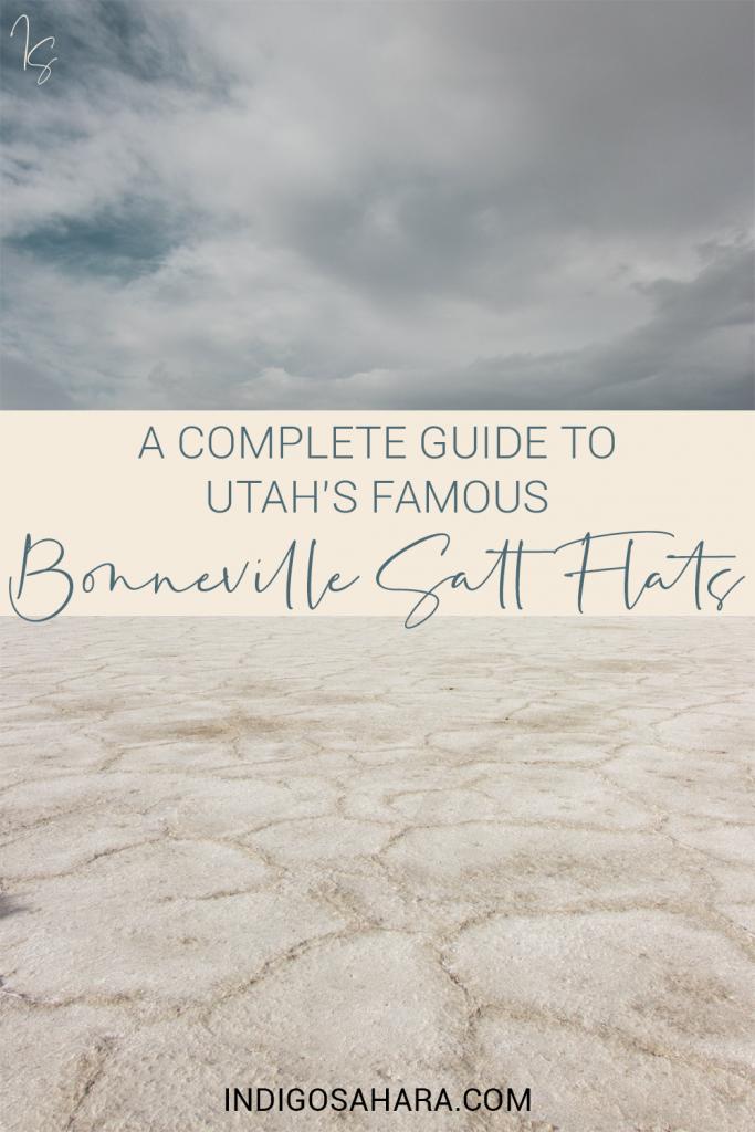 A complete guide to Utah's famous Bonneville Salt Flats