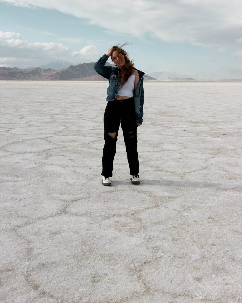 Bonneville Salt Flats photoshoot ideas