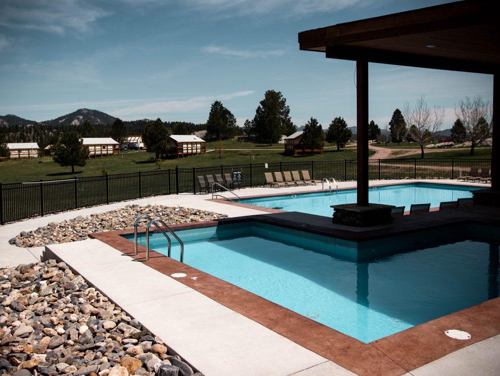 Amenities and pools at Buffalo Ridge Camp Resort