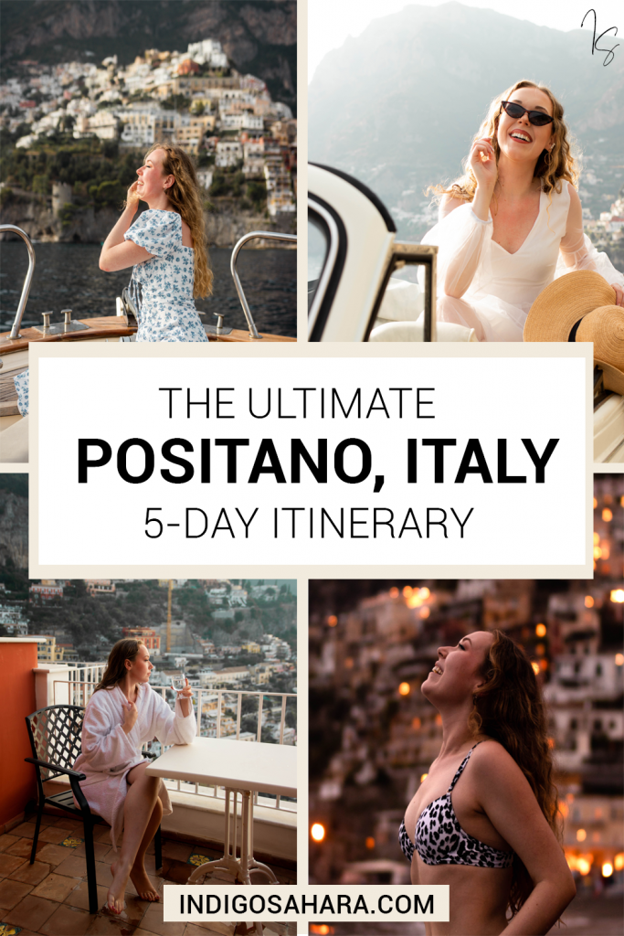 Positano In 5 Days Itinerary And Travel Guide