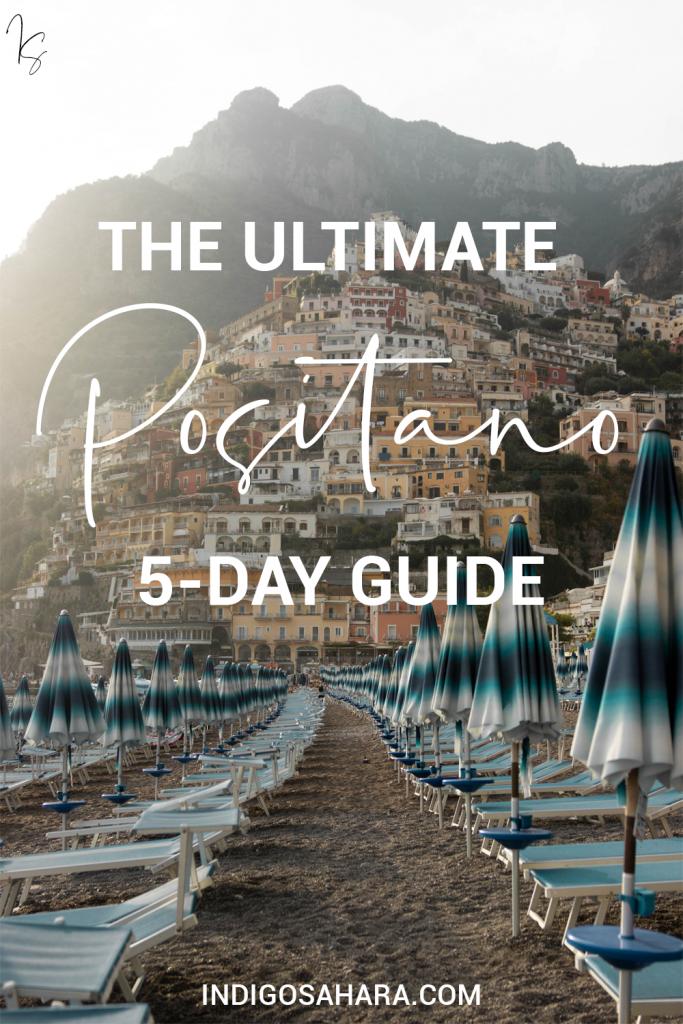 Positano Itinerary 5 Days