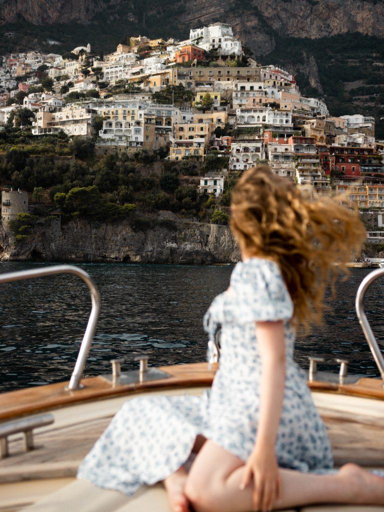 Blue Star private boat group tour in Positano, Amalfi Coast