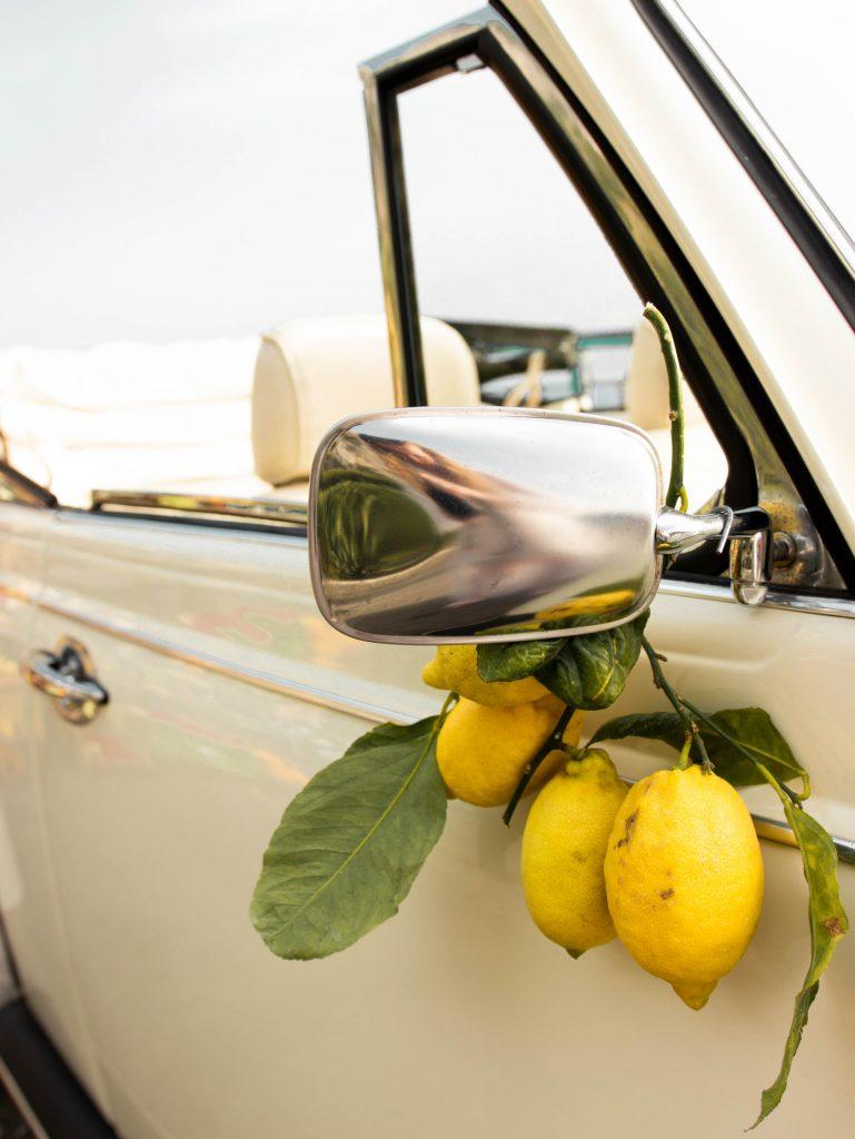 Lemons in Positano, Italy on the Amalfi Coast